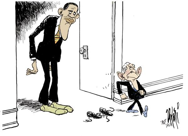 57448 600 The Presidential Shoes cartoons