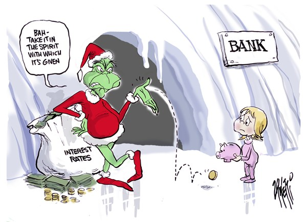 Paul Zanetti - Australia - Interest Rate Grinch - English - interest rate,grinch,bank,rates,money,lend