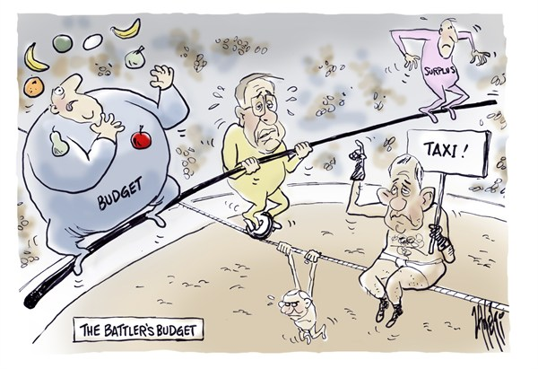Paul Zanetti - Australia - Battlers Budget - English -