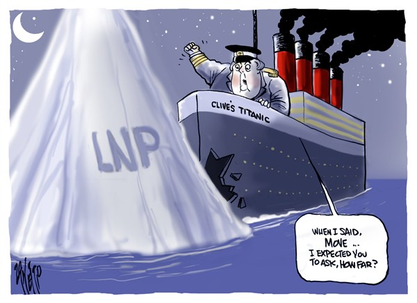 Paul Zanetti - Australia - Clives Titanic - English - clive,titanic,sink,ship