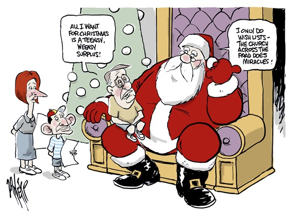 Paul Zanetti - Australia - Waynes Wish - English - santa,surplus,church,miracles,santa-2012