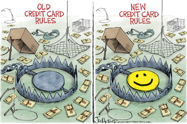 75032 600 Credit Card Rules cartoons