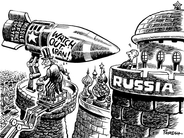 Paresh Nath - The National Herald, India - Misguided missile - English - Missile defence,Russia, Iran, USA ,Uncle Sam, Putin, provoking, Eastern Europe