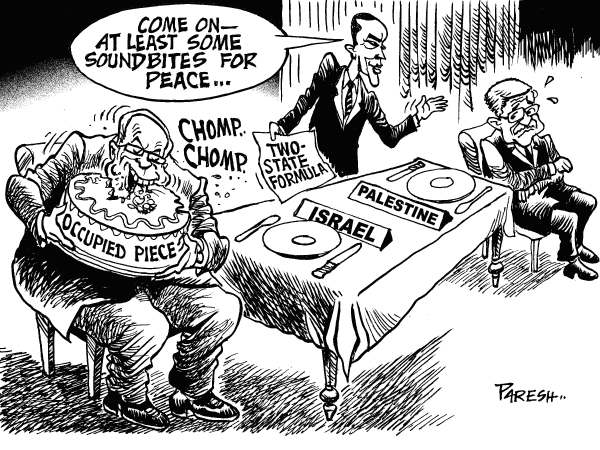 71121 600 Obama and Mideast peace cartoons