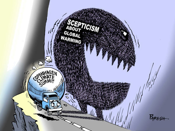 72140 600 Climate summit and scepticism cartoons