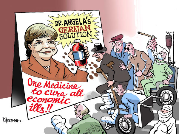 89598 600 German Medicine cartoons