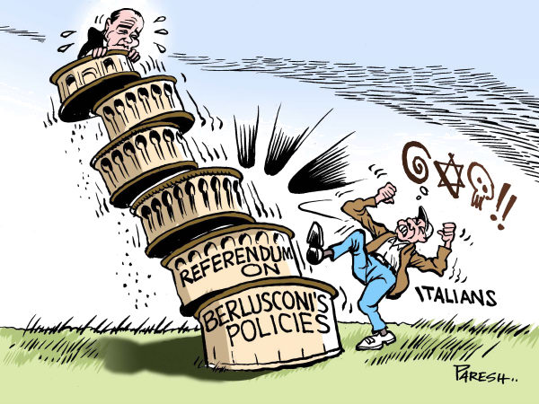 94420 600 Saying NO to Berlusconi cartoons