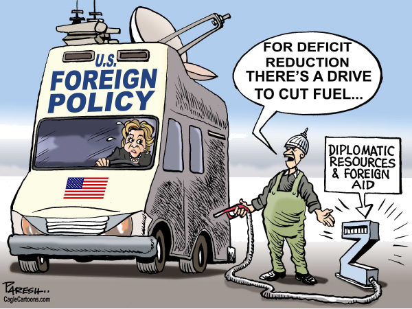99263 600 Cutting foreign aid cartoons