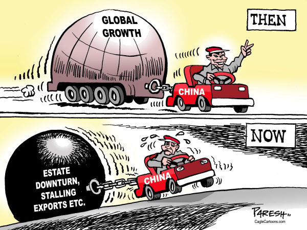 Paresh Nath - The Khaleej Times, UAE - China, then and now - English - China, economy, global growth,slowdown,exports,estate downturn,then and now,Chinese engine