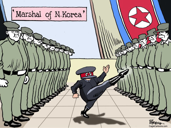 115982 600 North Korean Marshal cartoons