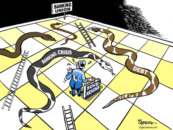 115985 600 Eurozone snakes  ladders cartoons