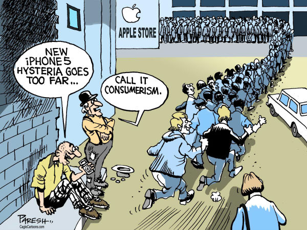 Paresh Nath - The Khaleej Times, UAE - New iPhone5 - English - Apple store, iPhone5, technology,web,communications,telephone, mobile, cellphone hysteria, consumerism