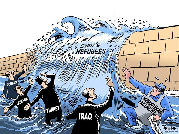 126830 600 Syrian refugees cartoons