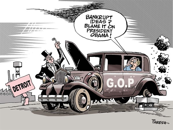 135342 600 GOP on Detroit way cartoons