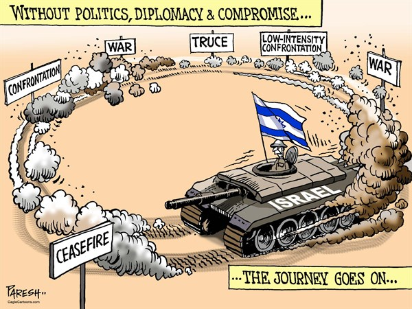 152678 600 Israeli use of force cartoons