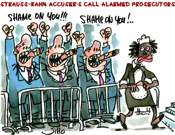 95046 600 Strauss Kahn Accusers Call Alarmed Prosecutors cartoons