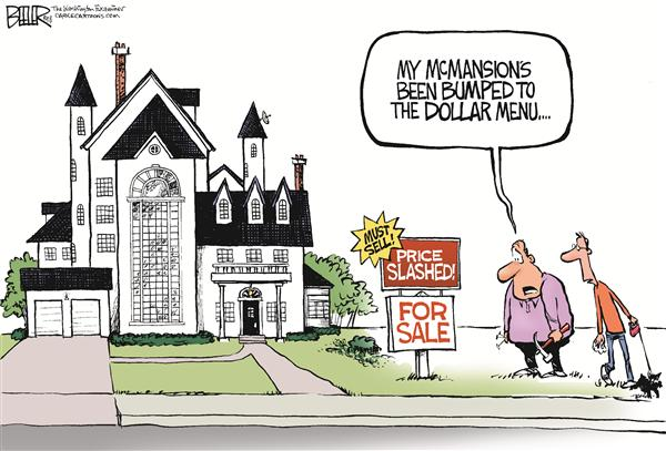 53527 600 Home Prices Pinch cartoons