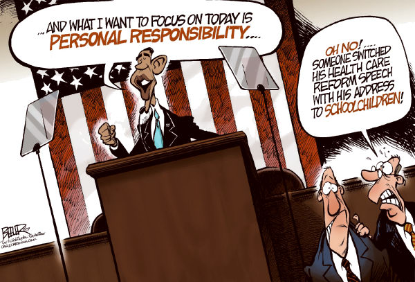 68807 600 Obama and His Speeches cartoons