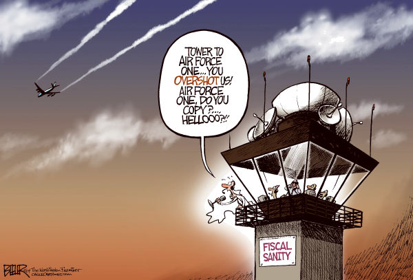 70571 600 Obama Overshoots Airport cartoons