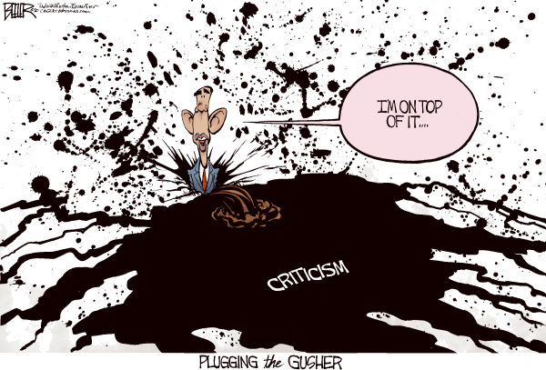 78921 600 Obama Plugs the Spill cartoons
