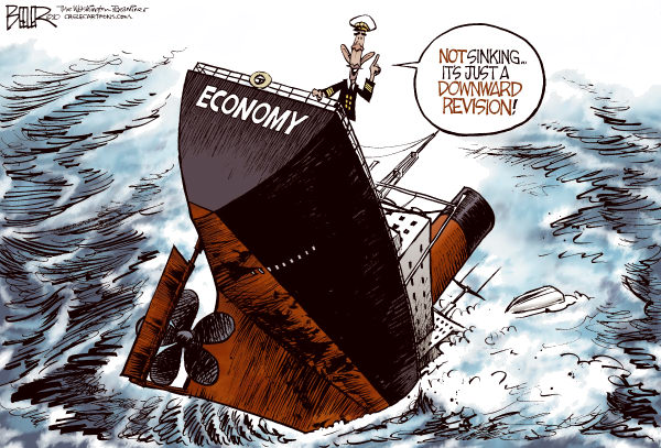82360 600 Economy Sinking Ship cartoons