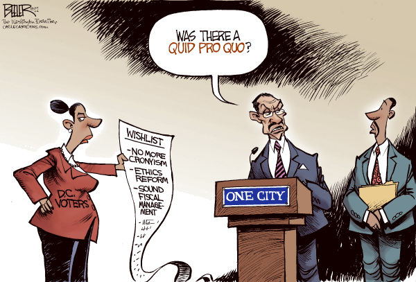 90291 600 LOCAL DC Quid Pro Quo cartoons