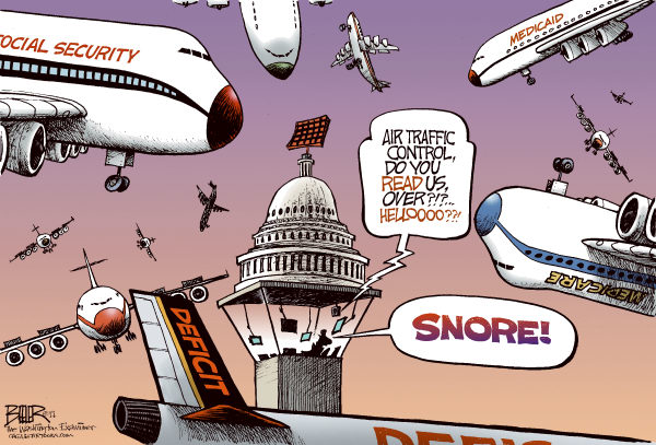 91025 600 Asleep in the Control Tower cartoons
