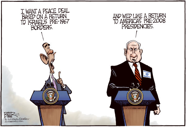 93555 600 Barack and Bibi cartoons