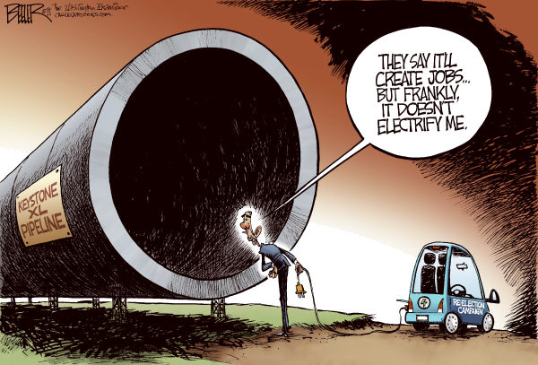 103048 600 Five Cartoons About the Keystone Pipeline cartoons