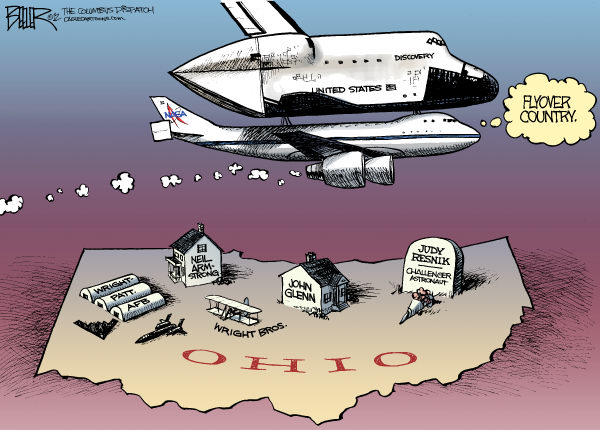 110344 600 LOCAL OH   Space Shuttle cartoons