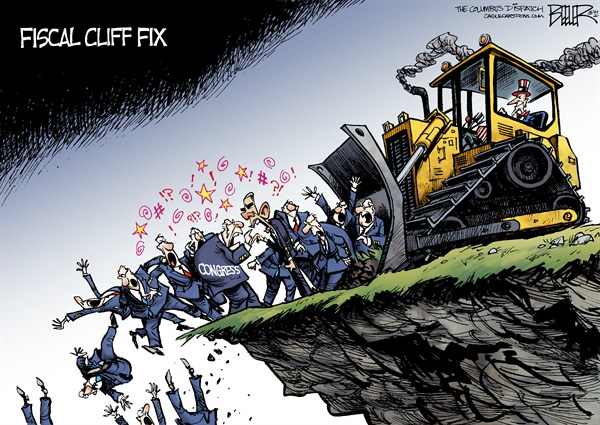 123528 600 Fiscal Cliff Proposal cartoons