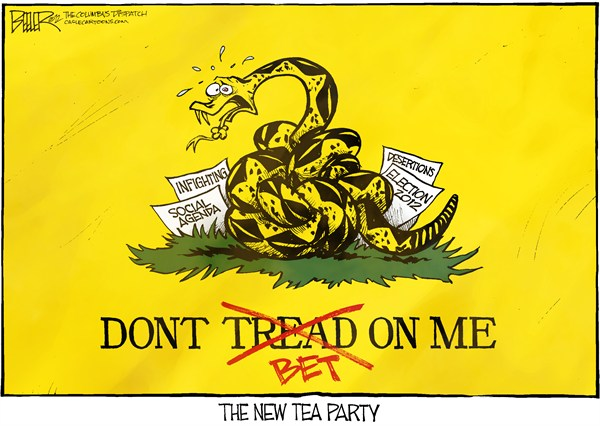 123614 600 Tea Party Flag cartoons