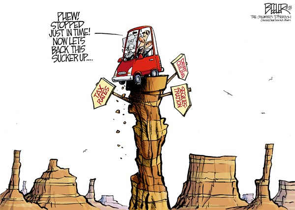 124884 600 Fiscal Cliffhanger cartoons