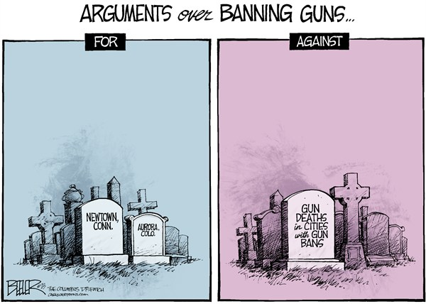 125484 600 Gun Bans cartoons