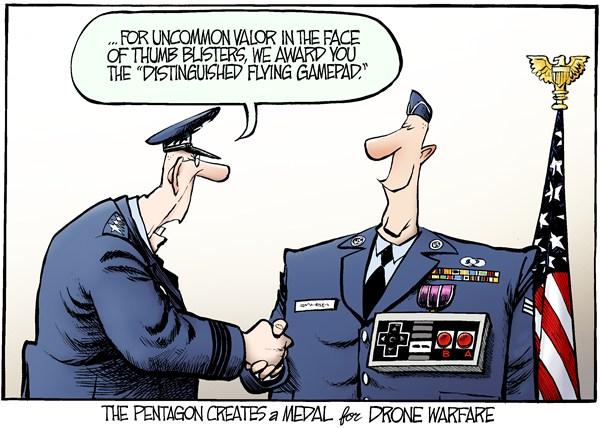 127466 600 Drone Medal cartoons