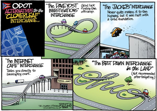132504 600 LOCAL OH   Interchange Change cartoons