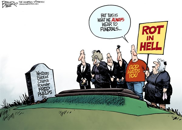 146003 600 Fred Phelps Funeral cartoons