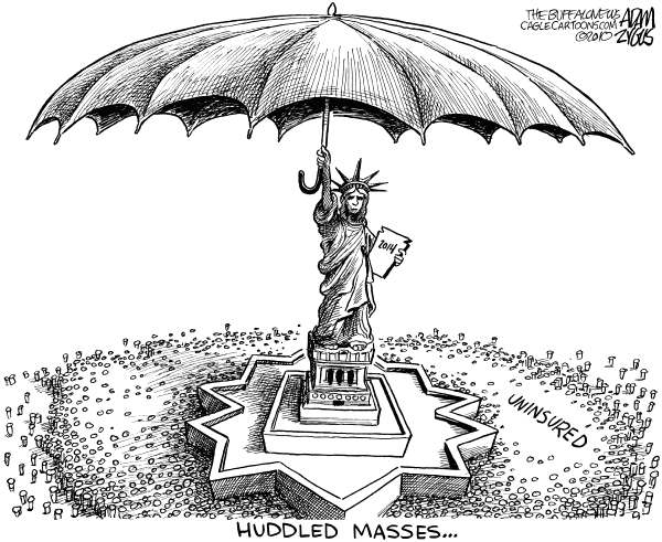 76117 600 Huddled Masses cartoons