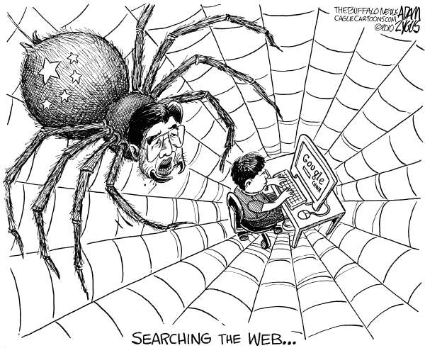 76326 600 China and Searching the Web cartoons