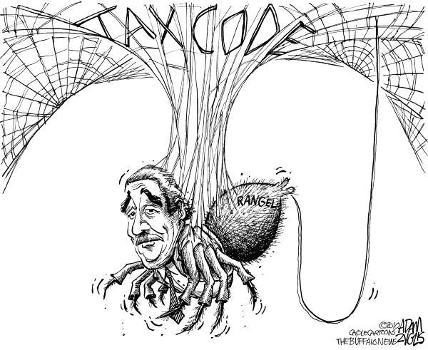 81375 600 Trapped in the Tax Code cartoons