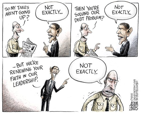 124945 600 Fiscal Cliff Leadership cartoons
