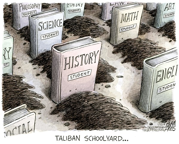 157512 600 Taliban Schoolyard cartoons