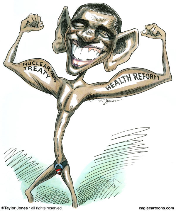 76567 600 Obama flexes cartoons