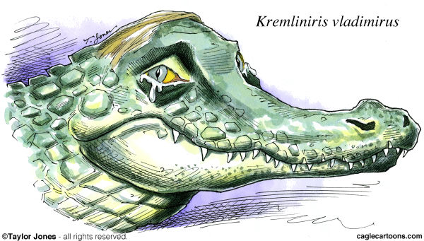 107805 600 Putin   tears of a croc cartoons