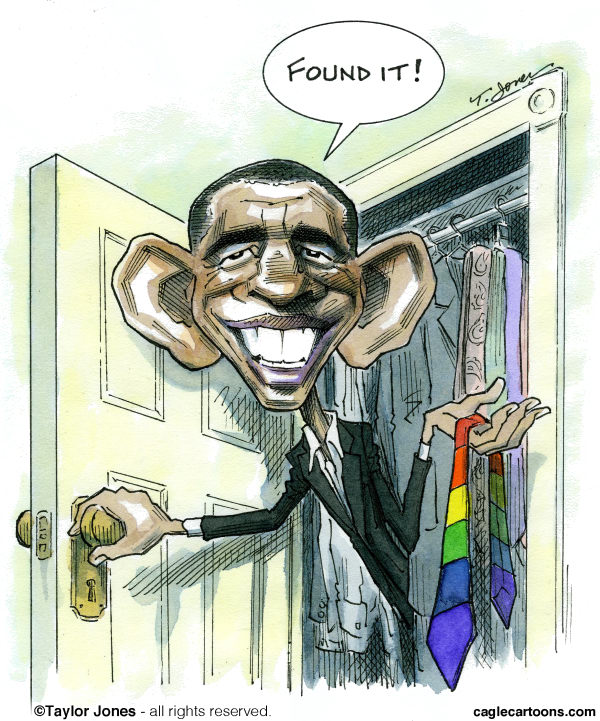 111539 600 Obama out on gay marriage cartoons