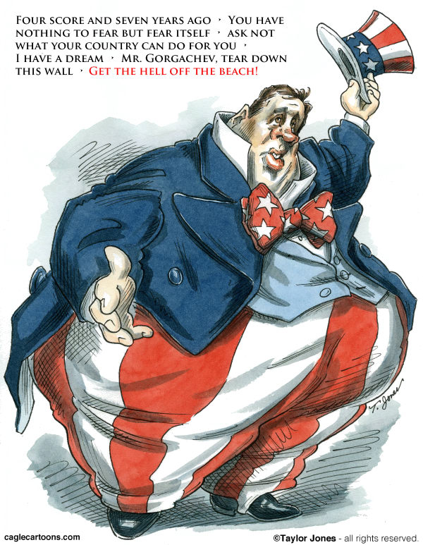117702 600 The Great Chris Christie cartoons