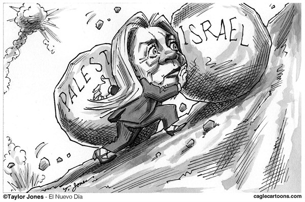 122849 600 Hillary Clinton   Double Sisyphus cartoons