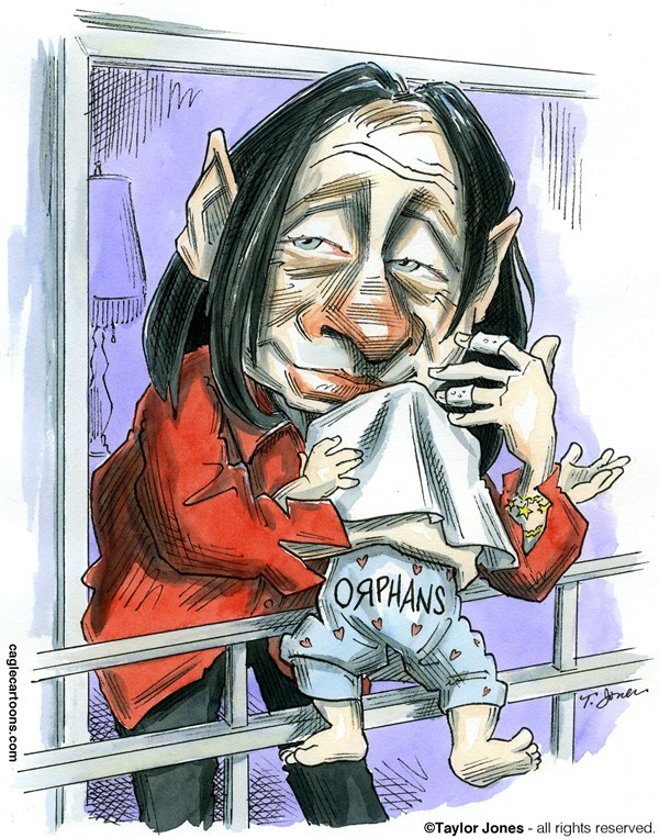 124660 600 Putin weighs orphan legislation cartoons