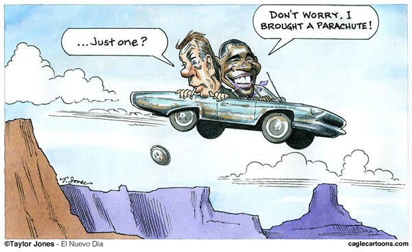 124739 600 Obama and Boehner   Cliff Driving cartoons