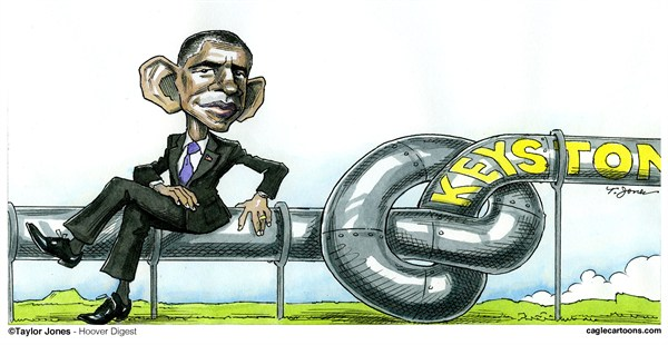 125235 600 Obama Keystone quandary cartoons